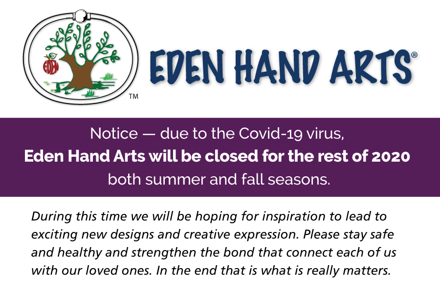 Eden Closed for the rest of 2020